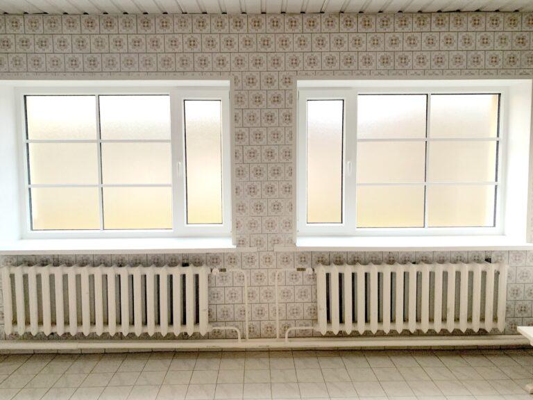 Riietusruumi uued aknad